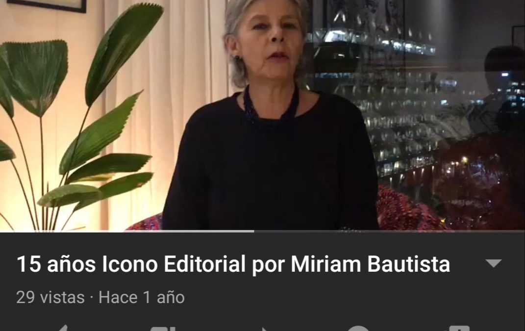 Miriam Bautista nos saluda por motivo de nuestros 15 años